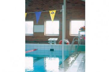 Rückenschwimmer-Sichtanlage Inox 38 mm